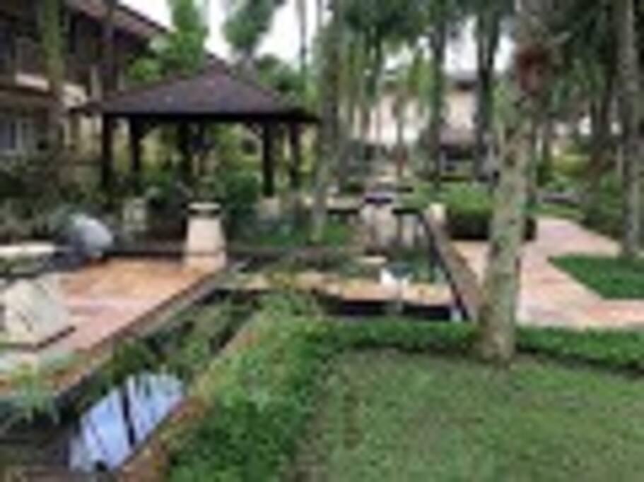 Paisagismo inspirado em Bali
