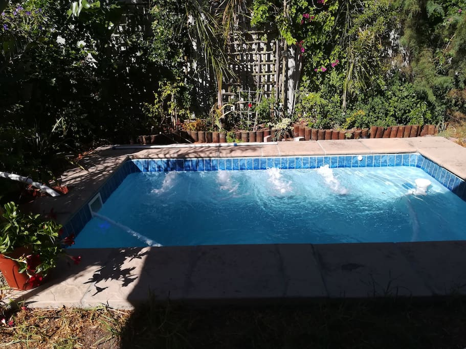 Jet Pool to relax in.