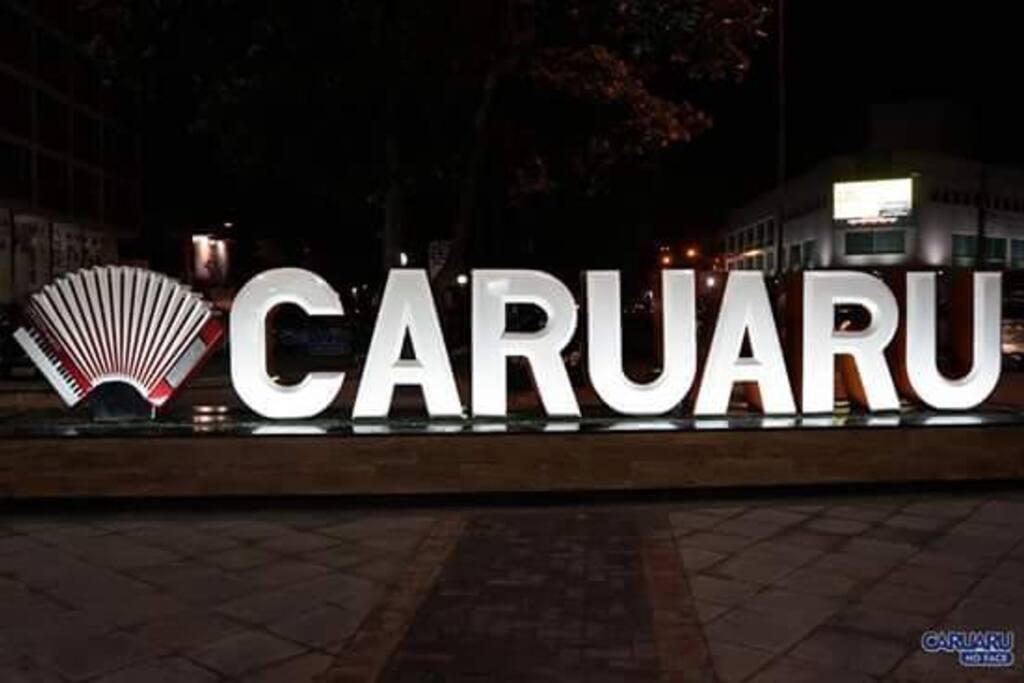 Centro de Caruaru-PE Daí se começa os festevos juninos