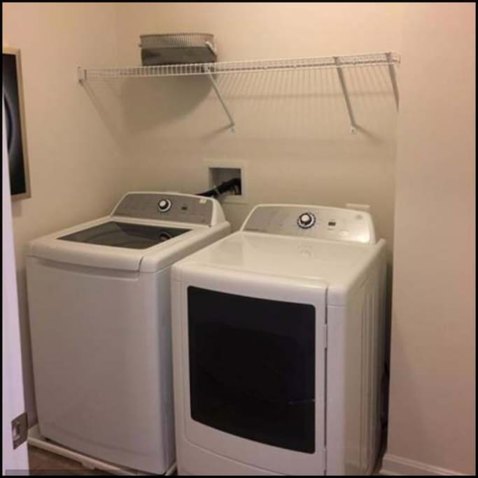 Washer/ Dryer Access