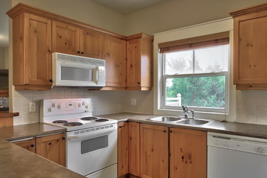 Cook meals in the fully-equipped and spacious kitchen
