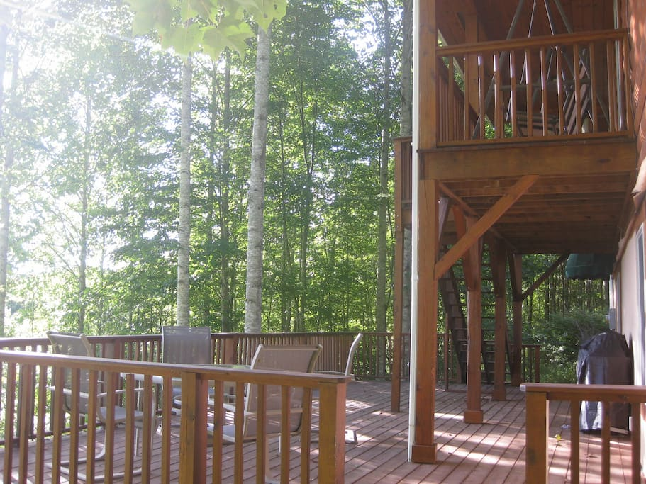 Back Deck - Basement Level