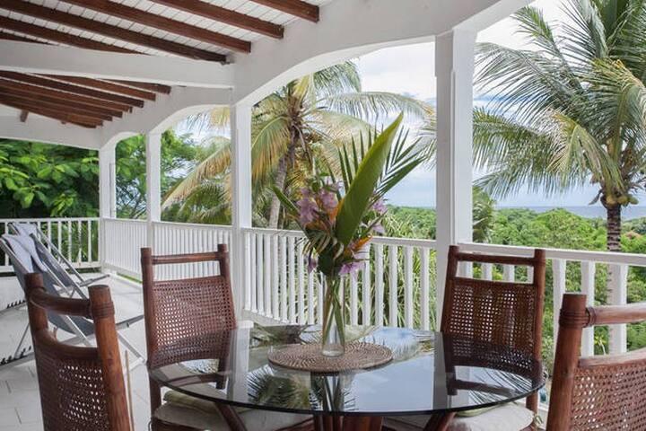 Chambre climatisée SDB privée dans villa piscine - GP - Villa