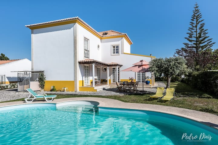 House with 4 bedrooms in Azeitão, with private pool, furnished garden and WiFi - 17 km from the beach