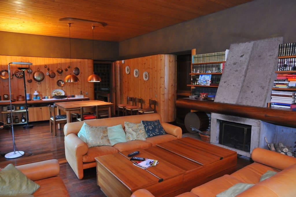 Sala da pranzo/salone-Living Room Dining Room