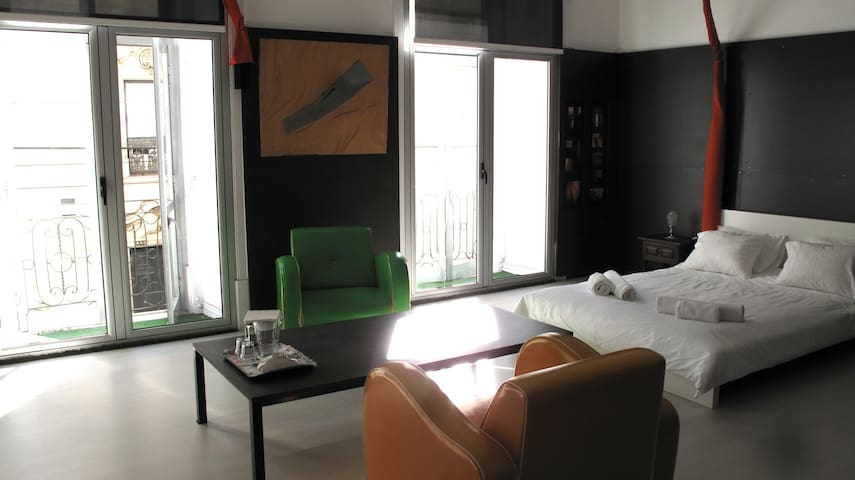 AtelieRoom - lisbon old center - 2 pax - Lisboa - Pis