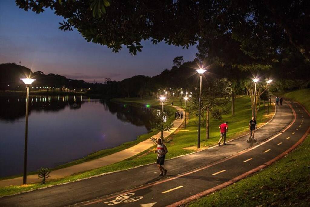 Parque São Lourenço a 1,4 km da residência