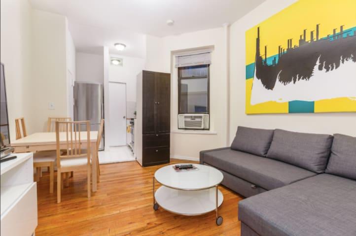 💖 Prime Quiet Greenwich Village 1bd