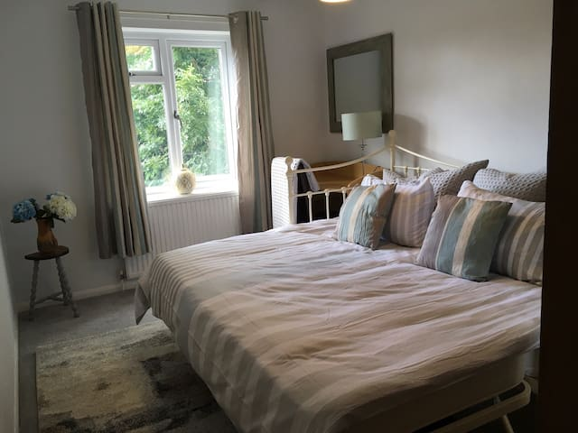 Bedroom 2, bed as a SuperKing