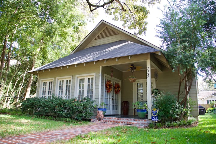 Cottage on Camelia- Private Suite (2BR/1BA) - Baton Rouge - Haus