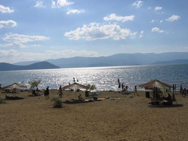 Prespa lake - a rare oasis of untouched nature.