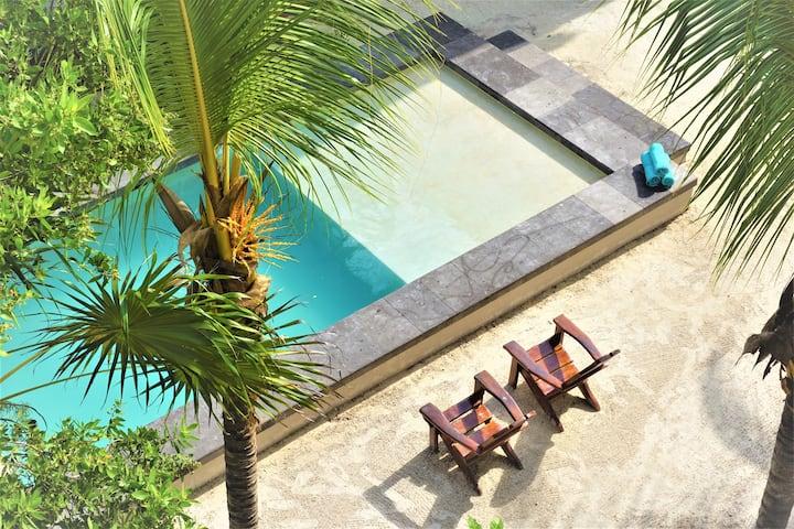Superior Double Room Pool View @ La Puerta Azul BF