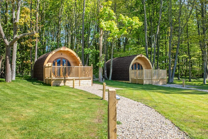 Large glamping pod for country escapes