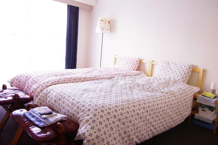 NEAR Umeda + FREE MOBILE WIFI! CUTE - Fukushima-ku - Квартира