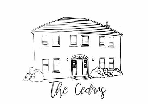The Cedars Airbnb Logo Add us on Instagram @thecedarsairbnb to get more up to date information on The Cedars Airbnb