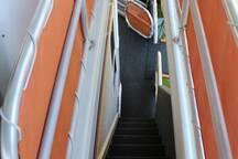 Forward Staircase down to Forward Deck.