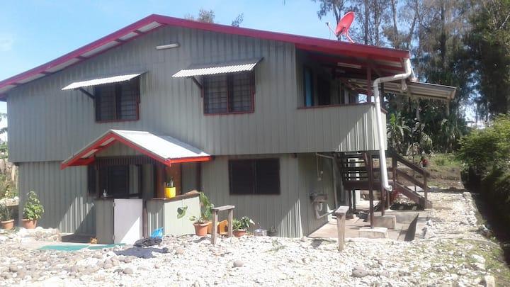 Modern Ialibu Home with a view