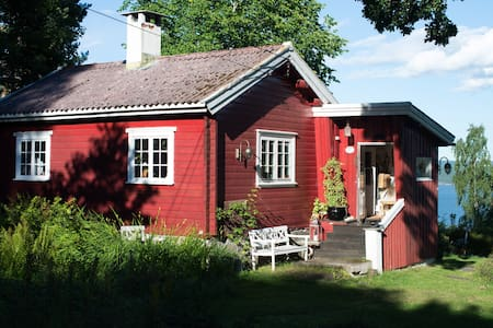 Beautiful house with seaview and garden! - Nesodden - Casa