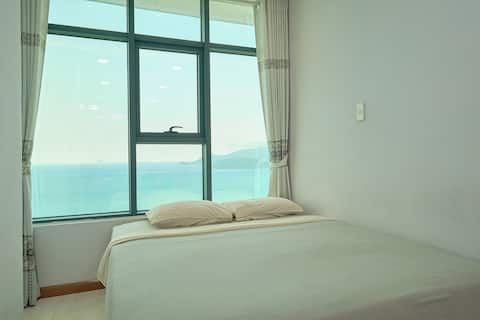 Economy Beach Front Apartment with Sunrise View