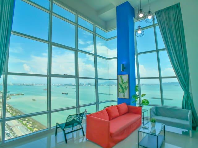 180° Sunrise Seaview Seaside Duplex 无敌日出全海景海边套房 14