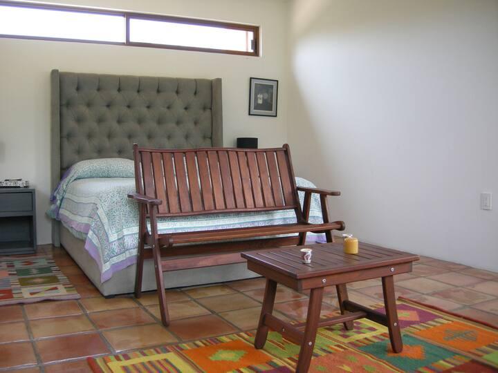Suite con terraza y hermosa vista en Tepoztlán