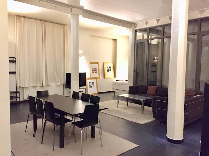 Grand Loft 150 m² - centre de bruxelles