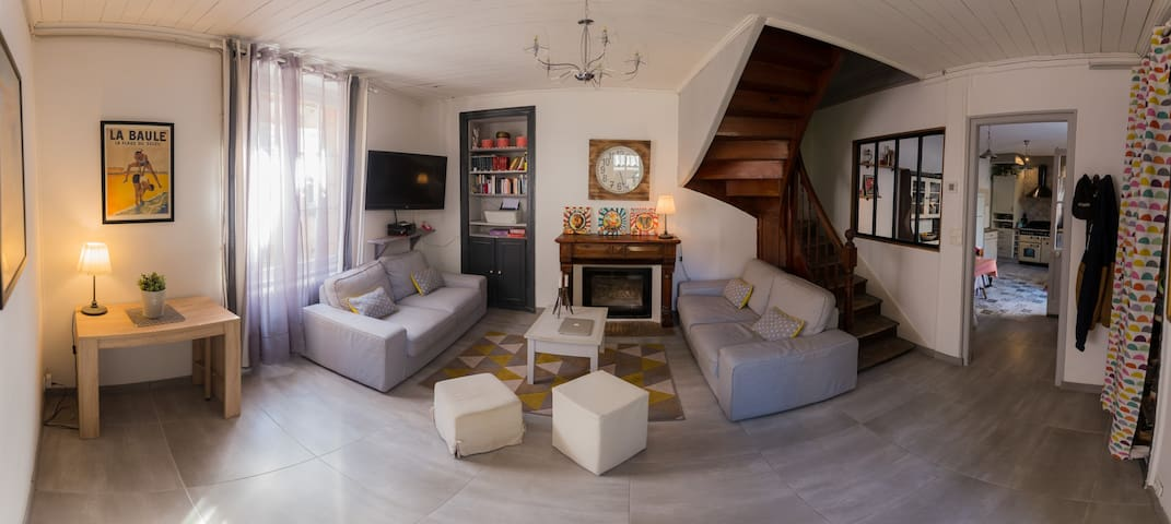 Maison de charme dans les remparts de Guérande - Guérande - House