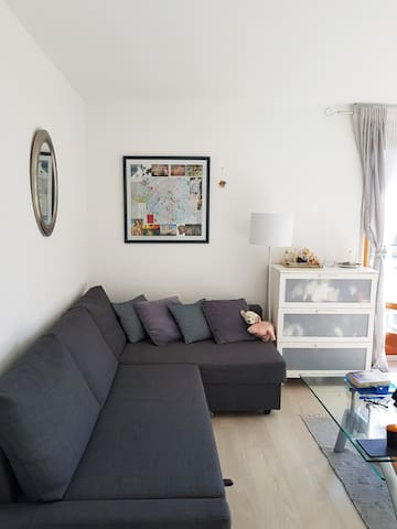Sunny apartment in the heart of Tübingen