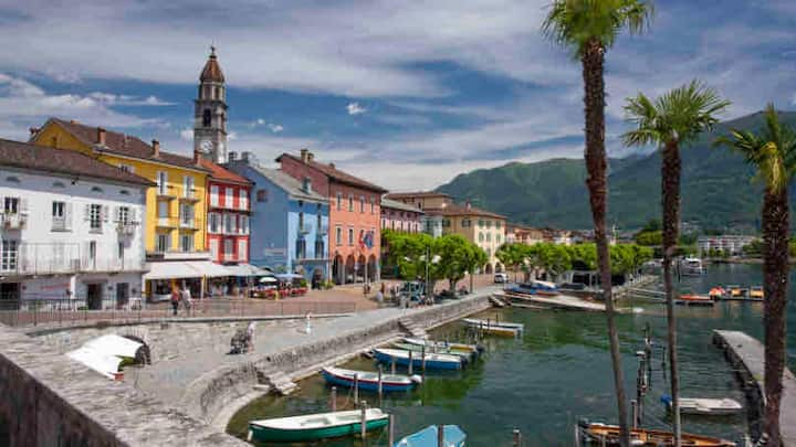 Lovely Apartment in the center of Ascona Town