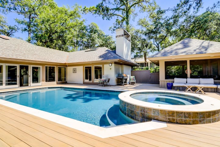 Stunning 3rd row home with private pool!