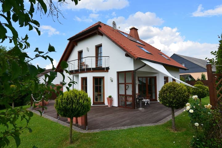 Modern Holiday Home in Willersdorf with Spa