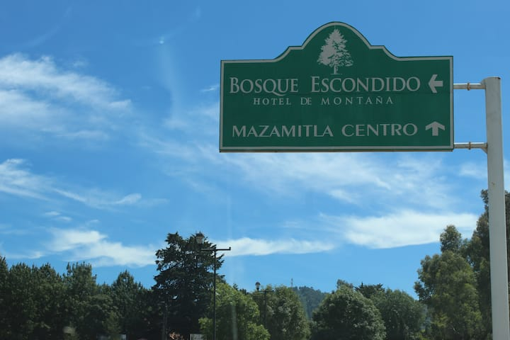 Cabaña 12 personas en MAZAMITLA (POR COVI SOLO 9 )