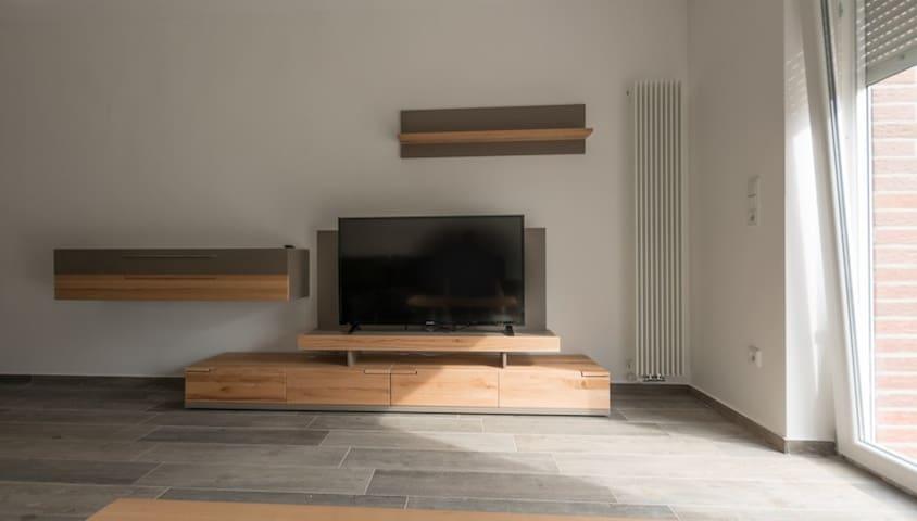 Luxuriöses Apartment - erstellt 2016, Stellplatz - Haltern am See - Lägenhet