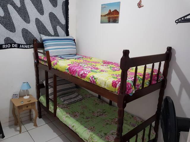 11-Private Room Botafogo, Copacabana beach
