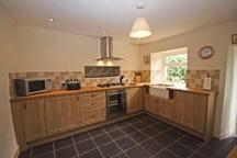 Fully equipped Kitchen with fridge & fridge/freezer