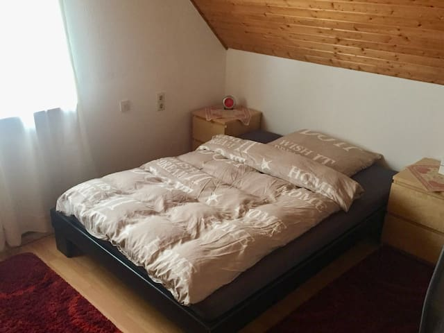 Nice Attic Room near Weinheim