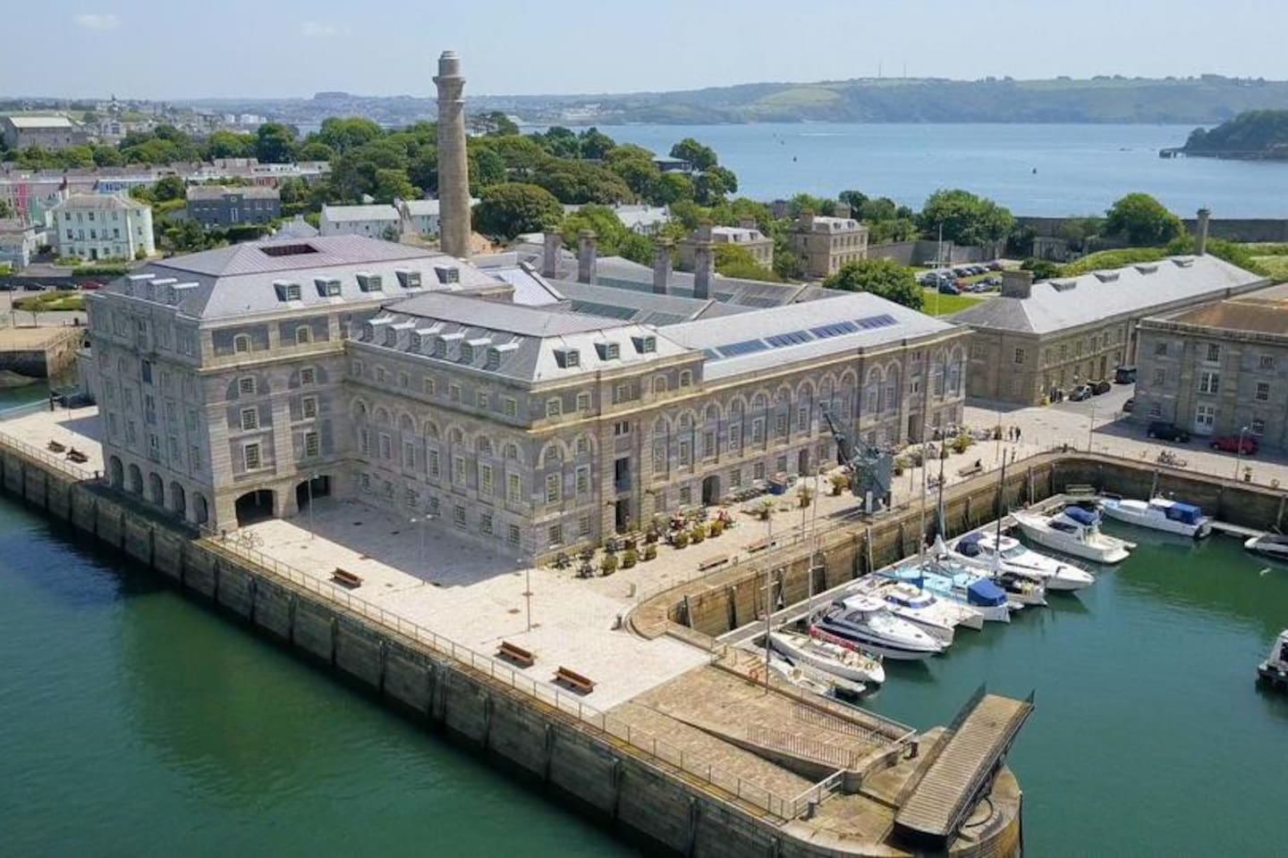 Royal William Yard is an award-winning Grade I listed ex-naval victualling yard.  Lovingly brought back to life by Urban Splash, Royal William Yard is the best community to work, relax, play and stay in the South West.
