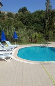 PRİVATE VİLLA İN ALANYA 3+1 - Değirmendere Köyü - Villa