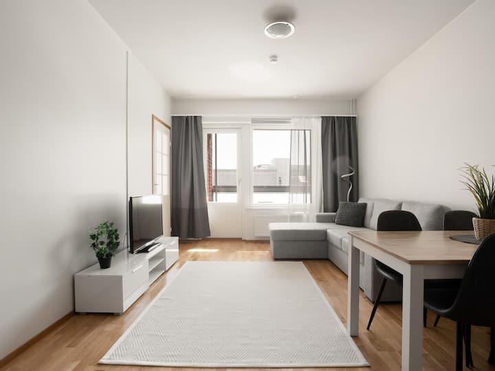Kotimaailma apartment with sauna
