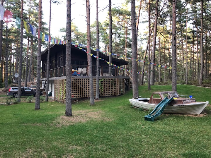 Family summer house next to the beach
