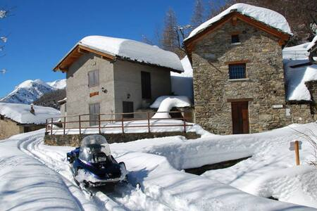 Apartment in Alpine house - Meizoun de Barbamarc - Giaglione - Haus