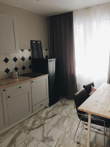 Стильная и уютная квартира, близко к центру - Kazan' - Leilighet