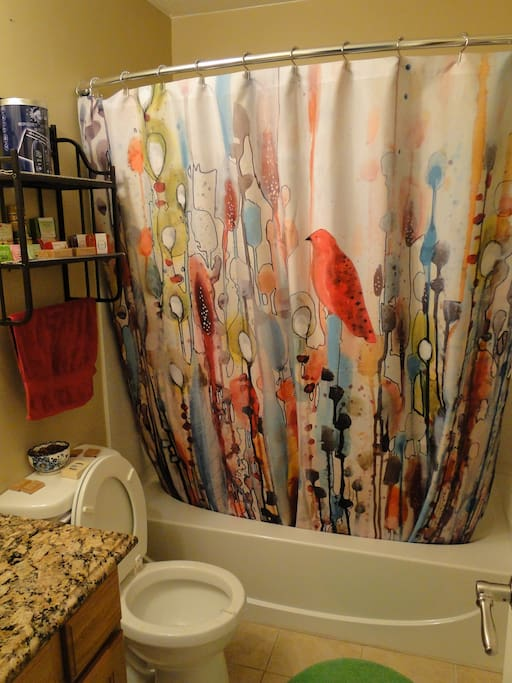 This is your bathroom.  It's right next door to your room, and completely private!