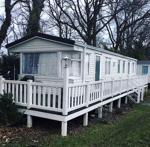 Static holiday home on 5* Bashley Park