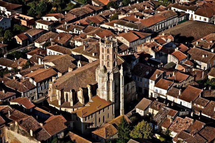 Sur les chemins de St Jacques de Compostelle - Gimont - Hus