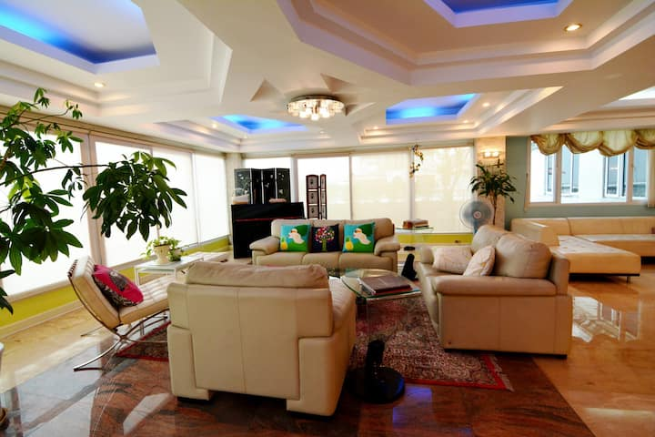 Penthouse comfort in the heart of Yangon