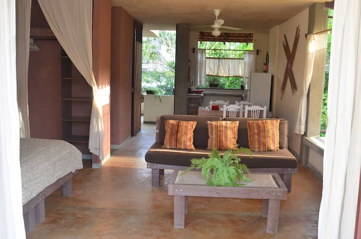 Tau Kie  Sayulita 3 - Monthly rental (Studio)