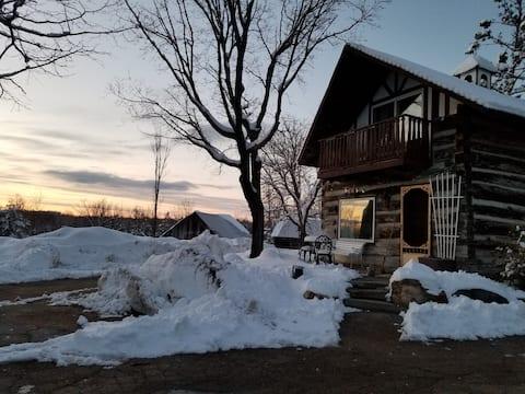 Gerber's cozy historic 1870 Chalet