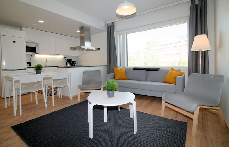 Forenom two bedroom apartment (with Balcony) in Turku