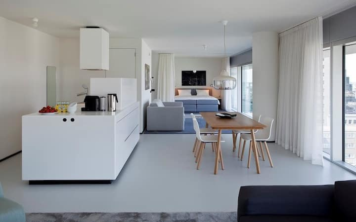 Modern and trendy Family Suite in the heart of Rotterdam!